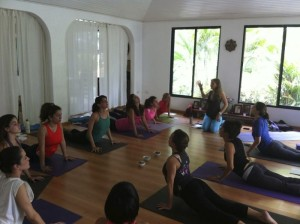Feminine Power Yoga workshops that help women get in touch with movement that supports the unfolding of their lives in each phase of their womanhood